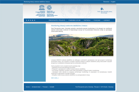Project web page