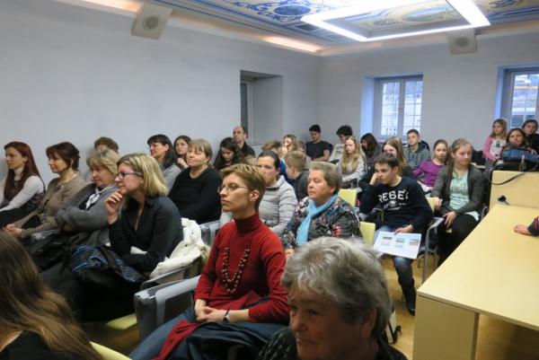 Udeleženke in udeleženci (foto: Vanja Debevec)