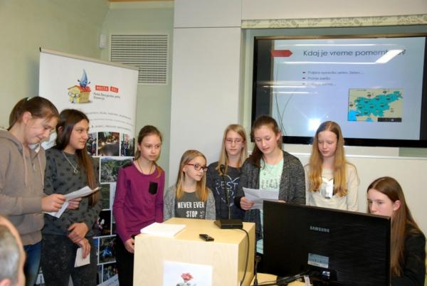 Učenci OŠ Podgora Kuteževo (foto: Olga Knez)