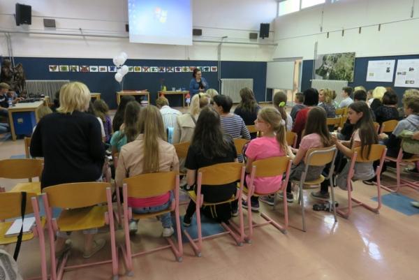 Mag. Vanja Debevec otvarja kongres (foto: Darja Kranjc)