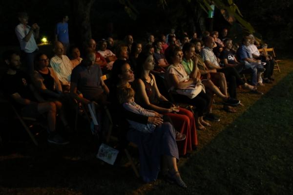 Občinstvo Večera filma o naravi (foto: Gregor Šubic)