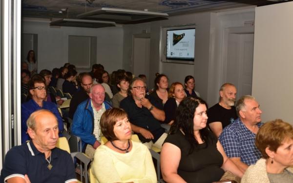 Občinstvo Večera filma o kulturni dediščini (foto: Borut Lozej)