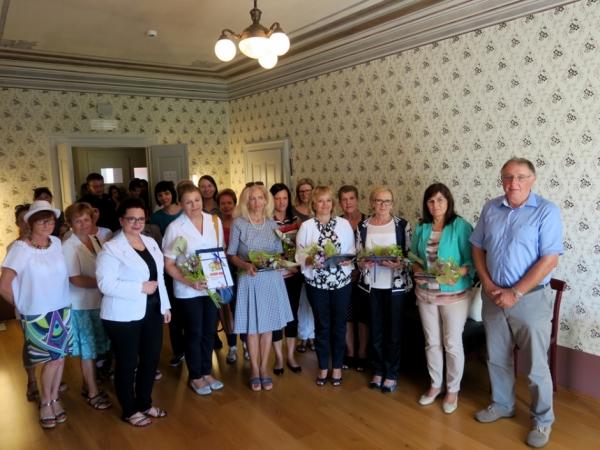 Ravnateljice in mentorice Mreže šol PŠJ (foto: Letizia Fambri)