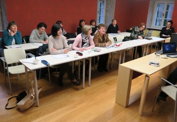 Mentorice Mreže šol PŠJ (foto: Darja Kranjc)
