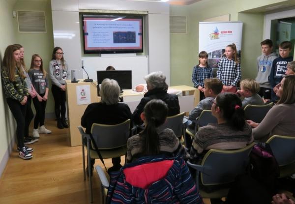 Učenci OŠ Podgora Kuteževo (foto: Laura Novak)