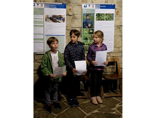 Katera zdravilna zelišča poznajo naši učenci (foto: Darja Kranjc)