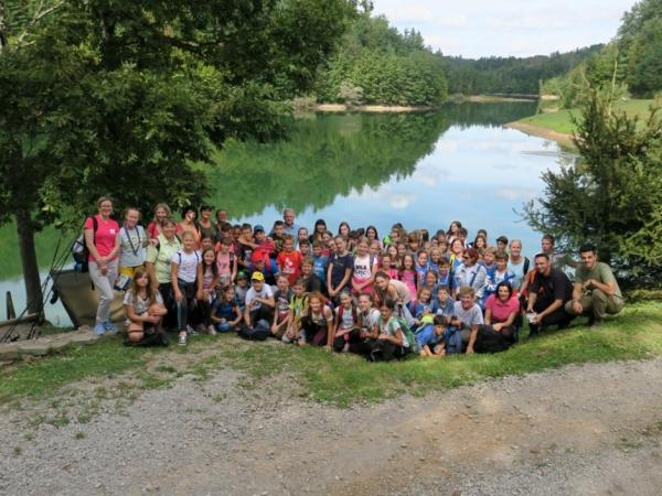 Mreža šol PŠJ in mentorji (foto: Darja Kranjc)