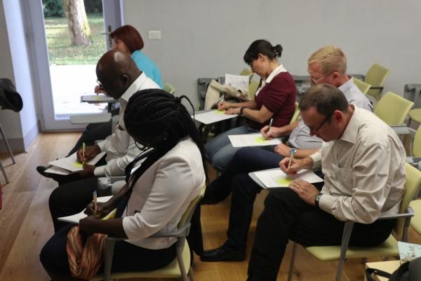Snovanje osnutka raziskovalne strategije BOK in PR (foto: Špela Prunk)