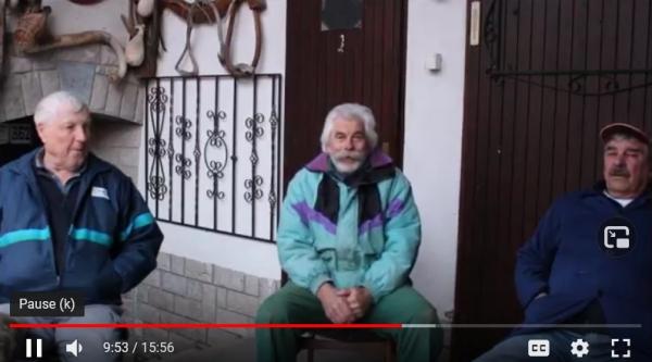 Video dokumentiranje pogovora z vaščani Jasena na temo učenke OŠ Antona Žnideršiča Ilirska Bistrica